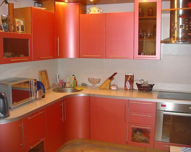Corner Kitchen Plastic Design