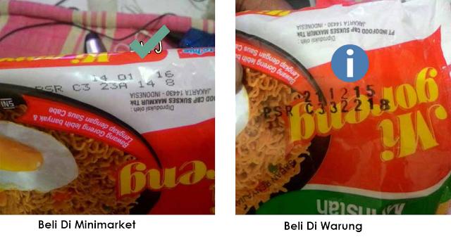WASPADA !! Teliti Lagi Sebelum Membeli Mie Indomie di Warung dan Minimarket, Bagikan Biar Banyak yang Tahu !!