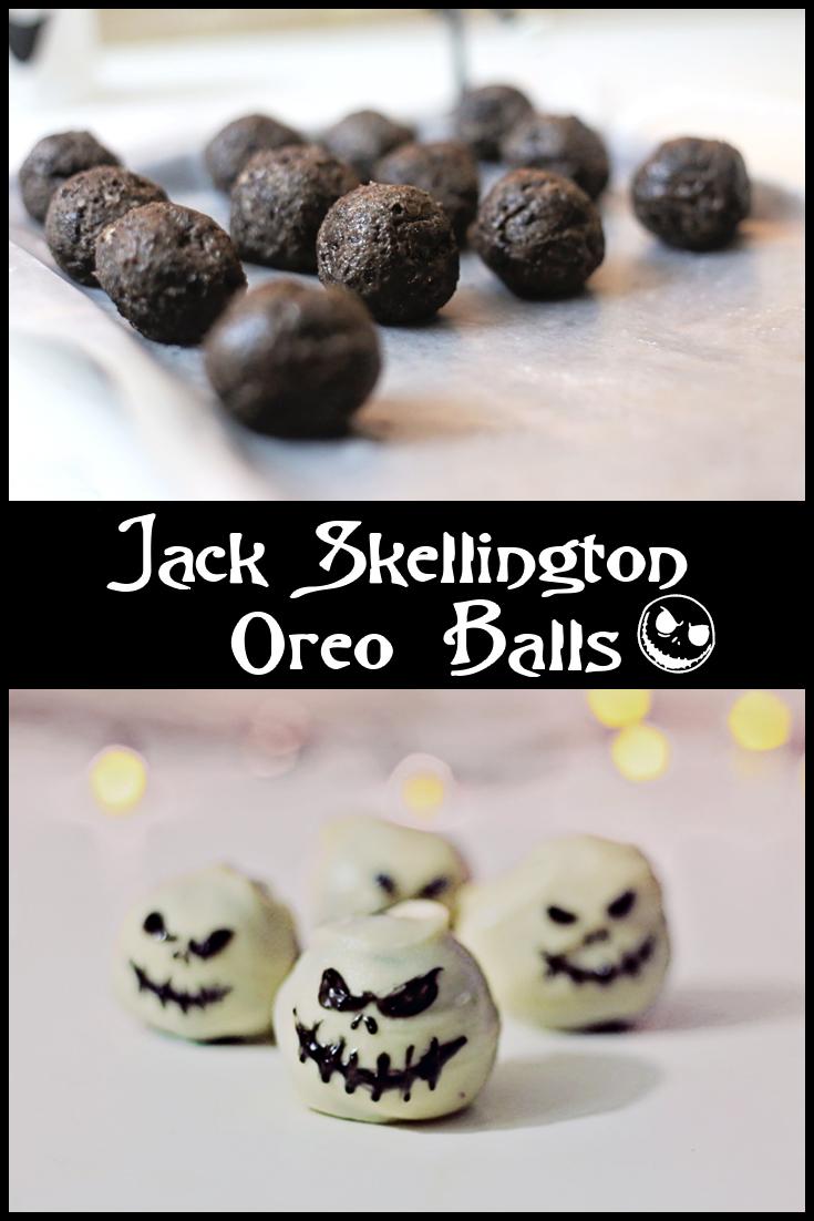 How to Make Jack Skellington Oreo Balls