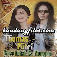 Thomas Arya & Putri - Rindu Tapisah Di Parantauan (Full Album)