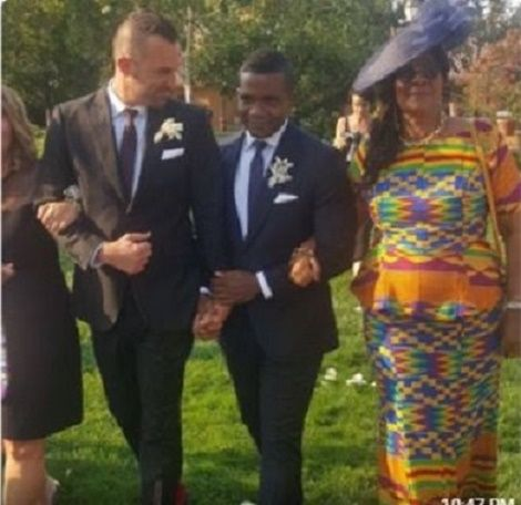 Photos/Video: Old Student Of Achimota School Marries Gay Partner