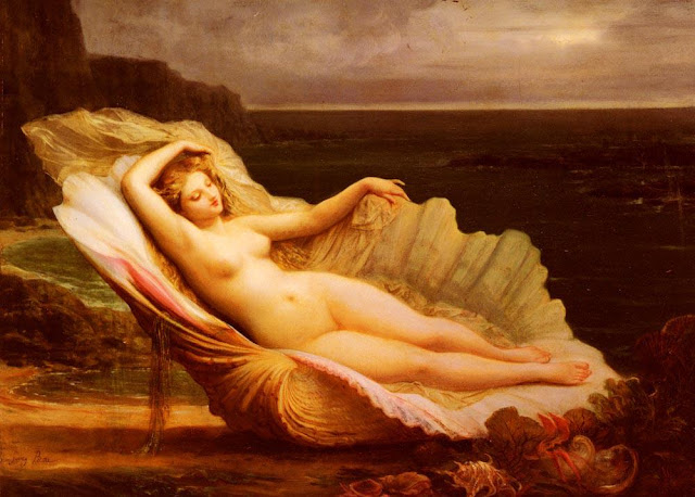 Goddess Venus depicted by Henri Pierre Picou, 19th century