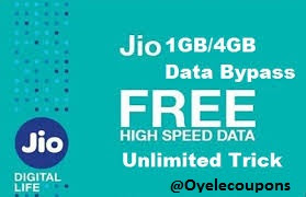 How to Bypass Jio 1GB  4G Limit