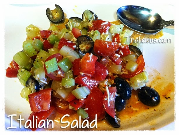 Italian Salad Tasty Tuesday Recipe
