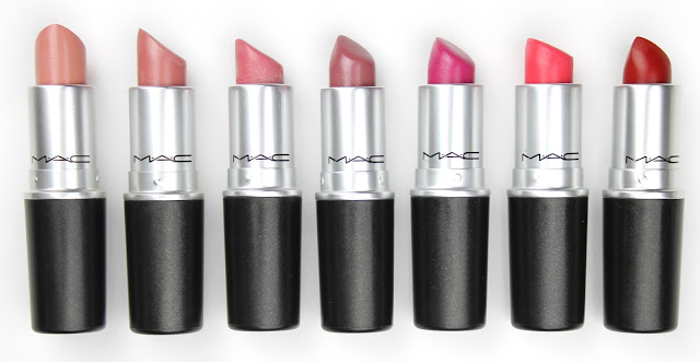 mac lipstick creme cup angel lovelorn syrup girl about town impassioned ruby woo