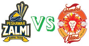 Peshawar Zalmi vs Islamabad United