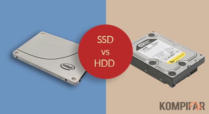 Inilah Perbedaan SSD dengan HDD, Pemenangnya Sudah Jelas