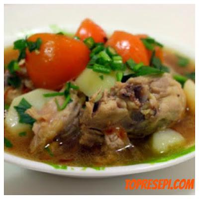 Resepi Sup Ayam Yang Mudah dan Sedap