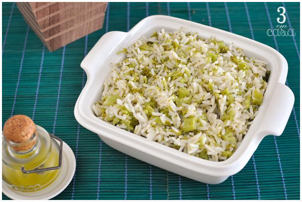 arroz brócolis receita