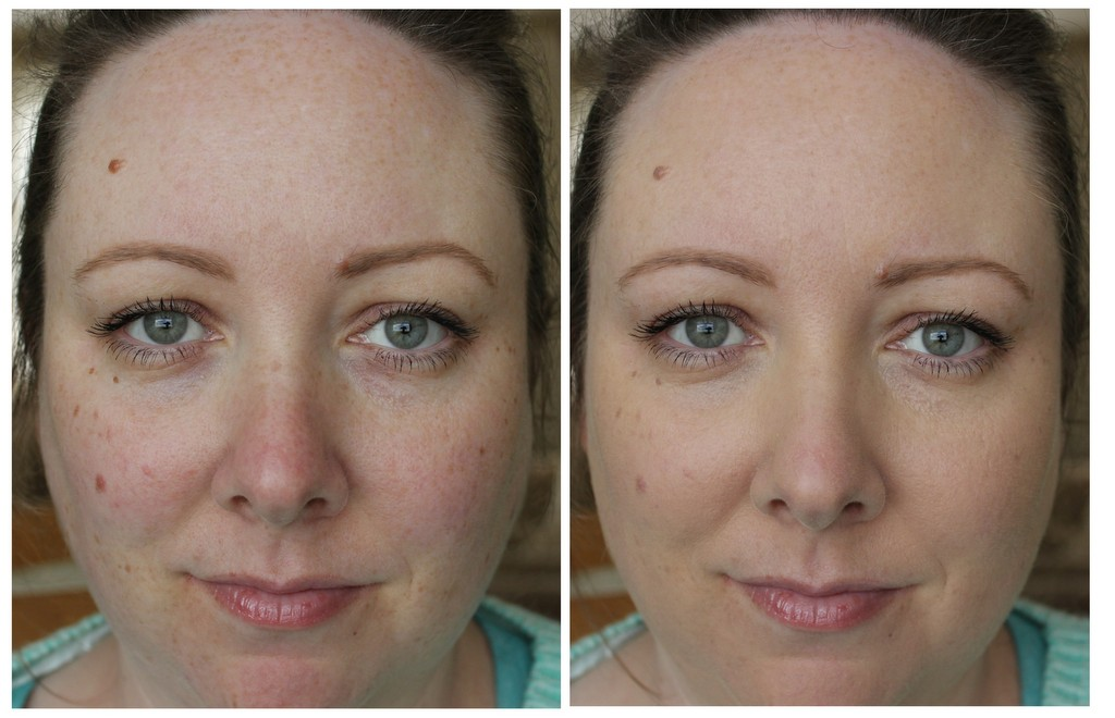 Bourjois Radiance Reveal Healthy Mix Foundation Review Before And After Photos Lovely Girlie Bits