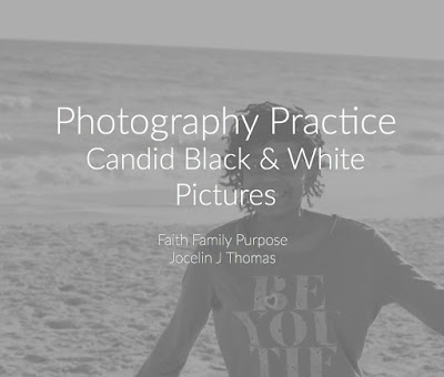 Candid Black & White Photography
