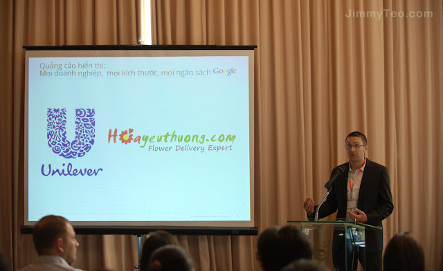 Hội thảo Google về mô hình thành công của Hoayeuthuong.com