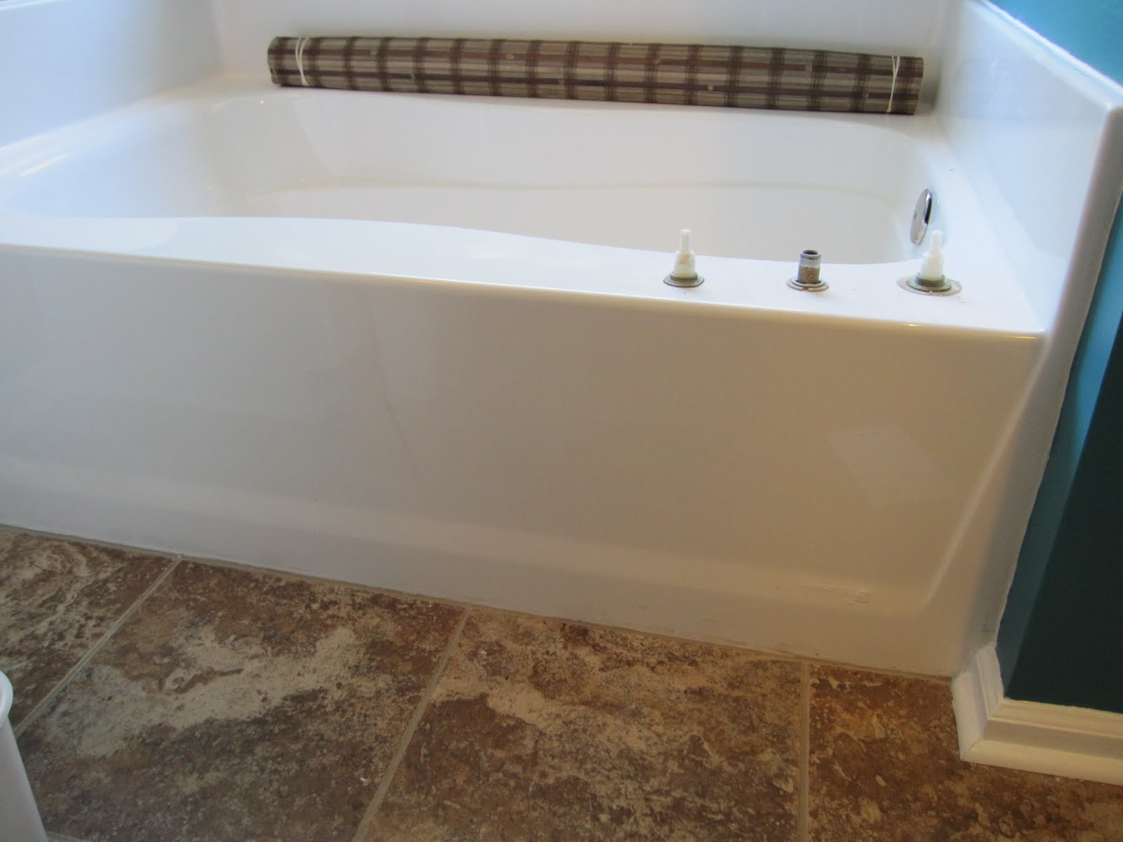 Well The Problem Is Tub I Did Not Want To Replace When It A Very Nice Also Didn T Them Rip Out Put