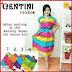 BTK056 Baju Daster Centini Rainbow Dress Batik Murah BMGShop