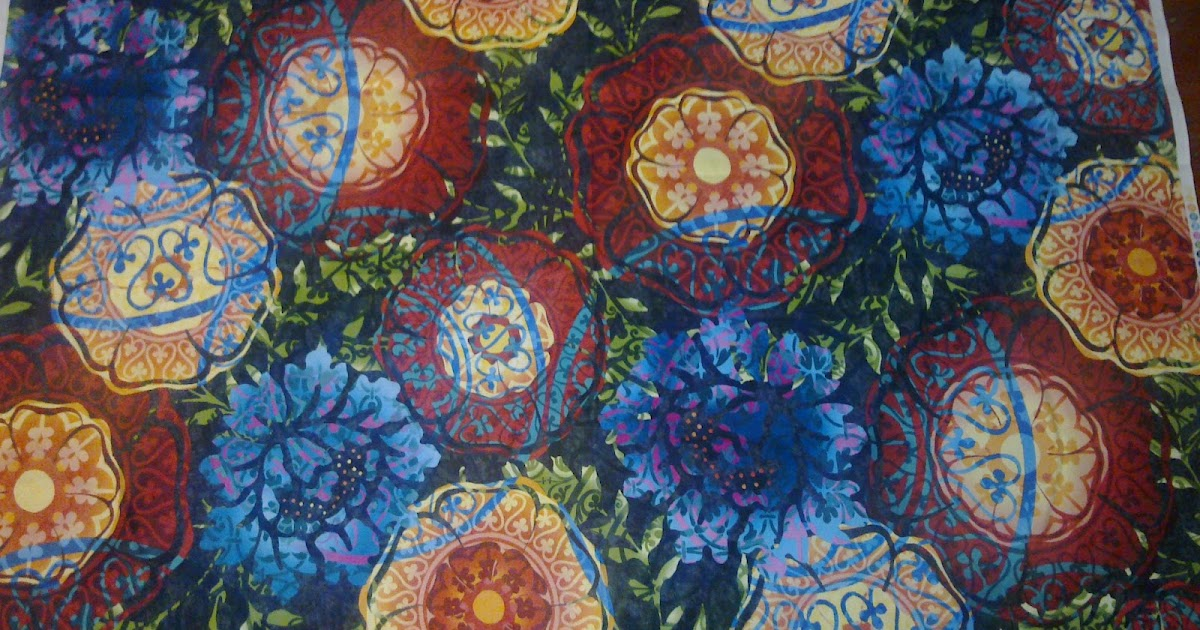 Don 39 t wait to create avalon my latest kaleidoscope for Space fabric nz