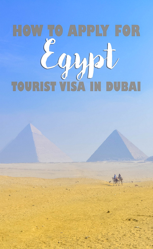 egypt visa application in dubai pinterest