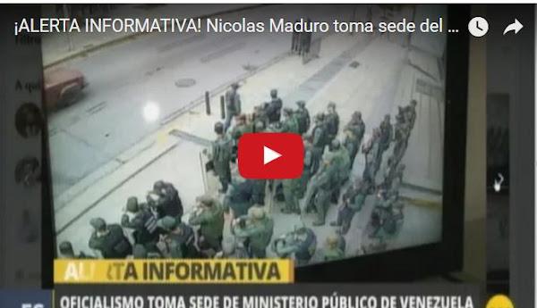 Militares asedian la sede del Ministerio Público