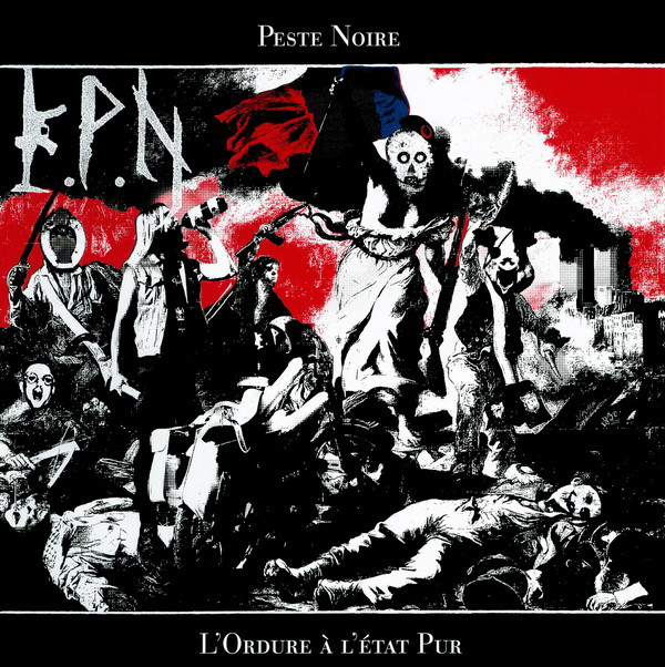 KPN l'ordure a l'état pur peste noire black metal de france