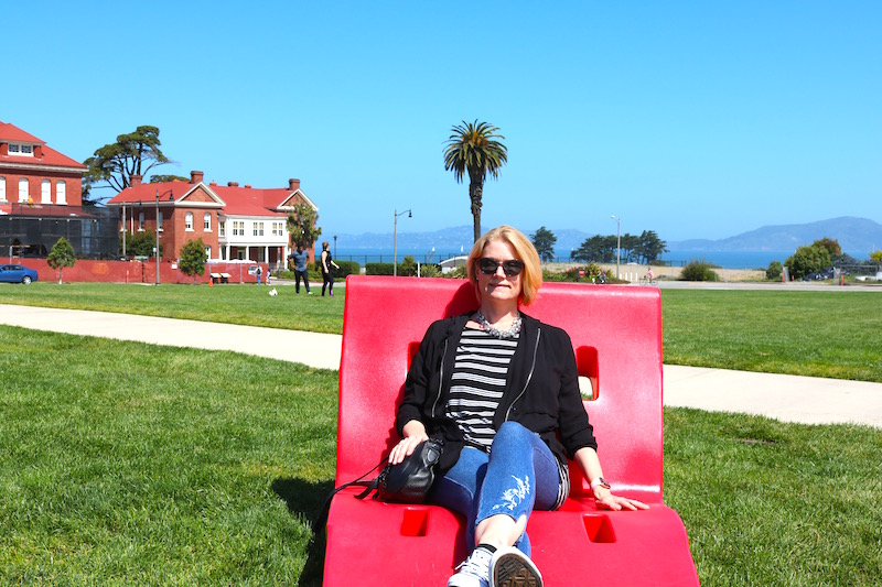 Andrea's Wellness Notes: Visiting the Presidio in San Francisco