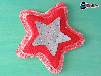 stella in carta pesta e alluminio fai da te