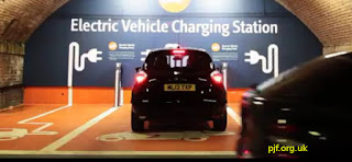 electric vehicle charging Manchester