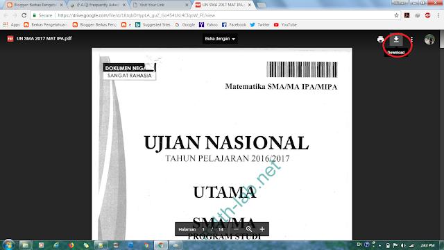 Panduan Download File berkaspengetahuan.com