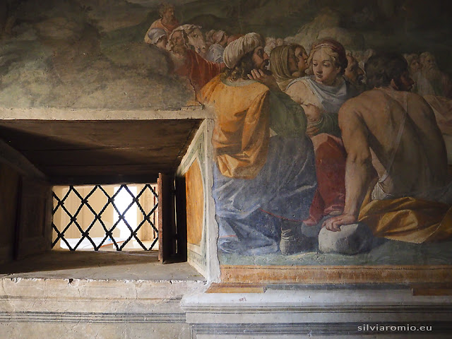 Affreschi nel Castello dei Colonna a Genazzano