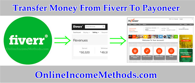 How To Transfer Money From Fiverr Payoneer Account