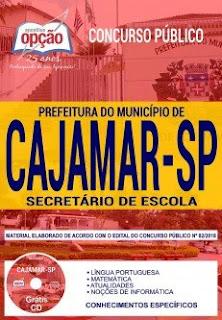 Download Apostila Prefeitura de Cajamar 2018 PDF