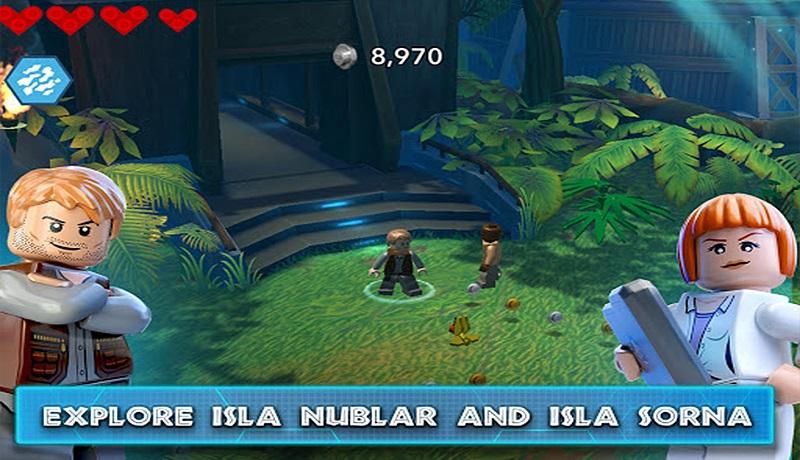 تحميل لعبة LEGO Jurassic World APK للاندرويد من مديا فاير