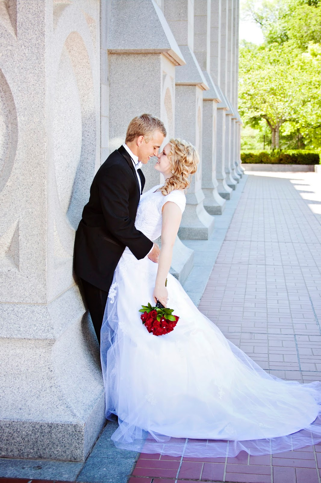 salt lake temple lds wedding photography