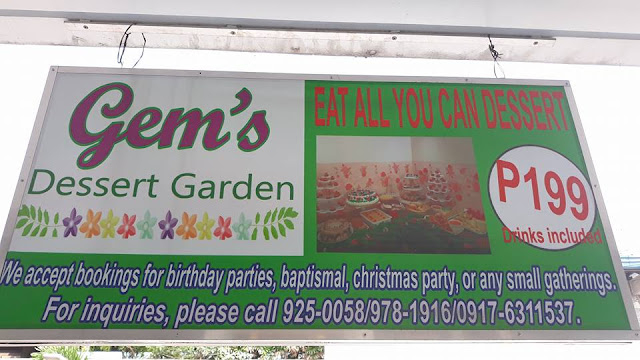 gems dessert garden rates, prices,
