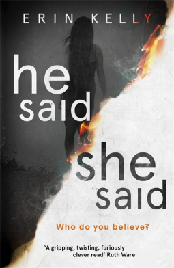 He Said She Said by Erin Kelley - Book Review