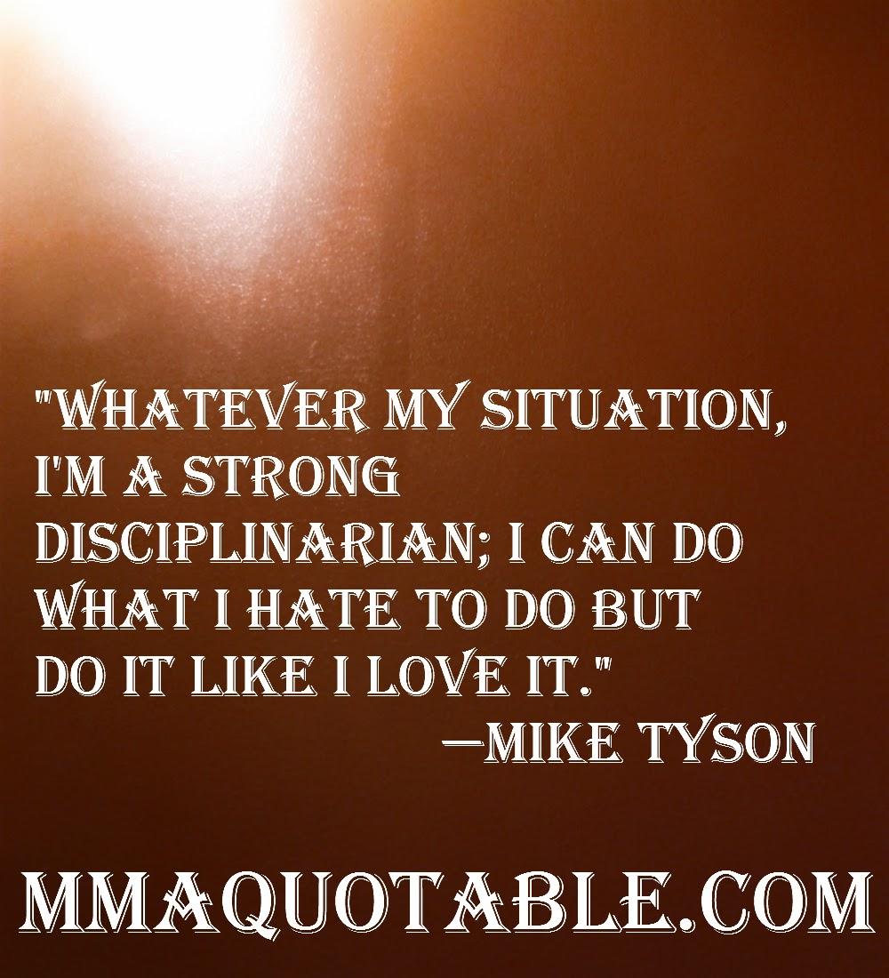 Mike Tyson Quotes: Motivational Quotes With Pictures (many MMA & UFC): Mike