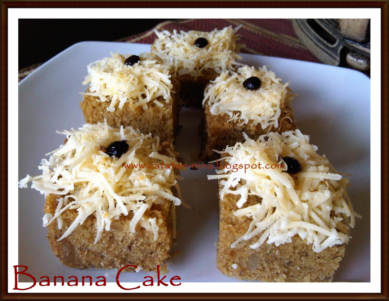 Resep Banana Cake Khas Jepang: Resep Kue Masakan Dan Minuman Cara