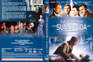 Carátula dvd: La ciudad sumergida (1965) The City Under the Sea