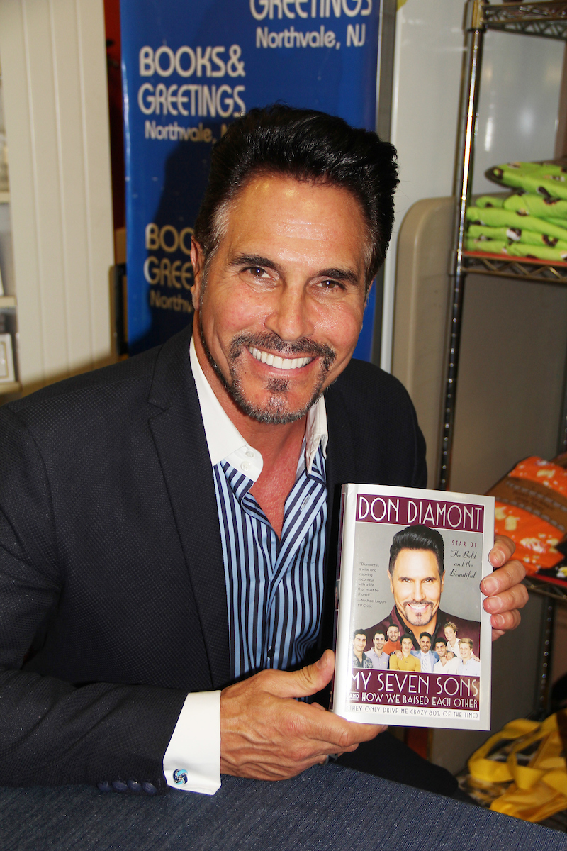 We Love Soaps Photos Don Diamont Signs His New Book My Seven