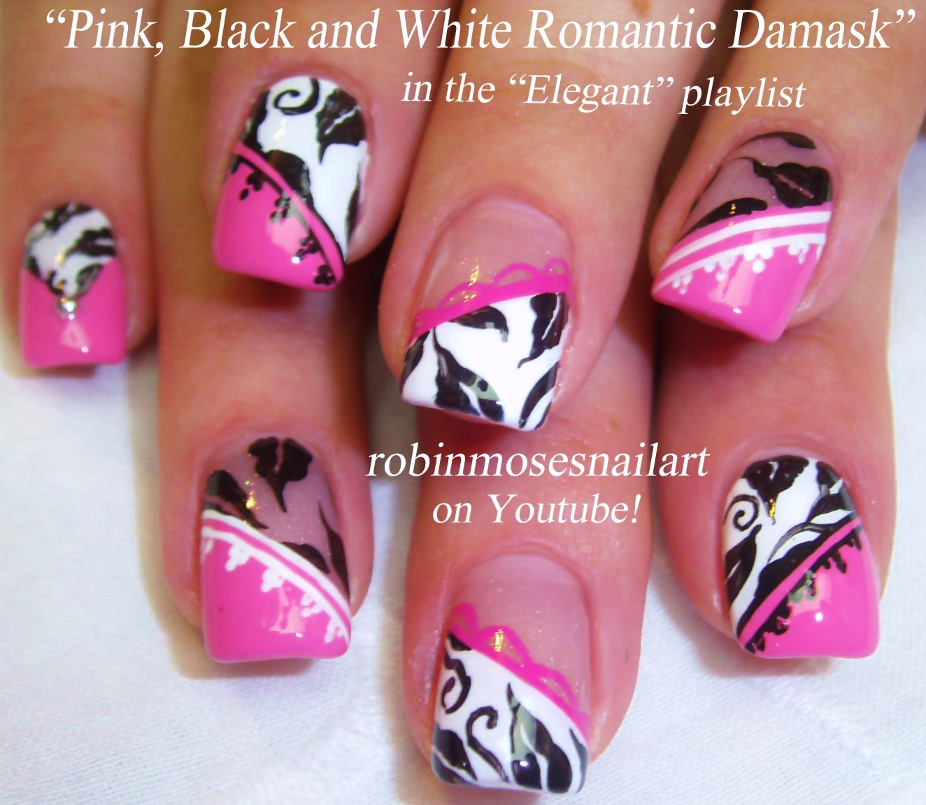 nail designs with bows and diamonds