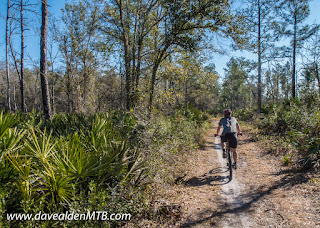 Snowball MTB Trails, Little Big Econ State Forest, Oviedo, Florida