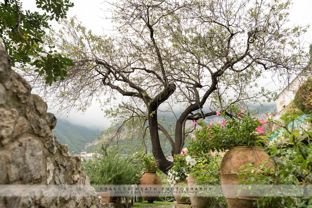 Garden wedding Positano