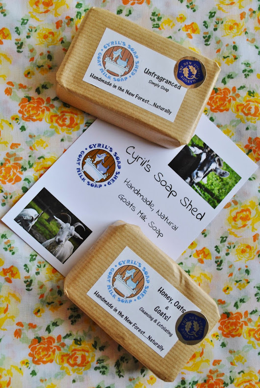 Natural Goats Milk Soap!