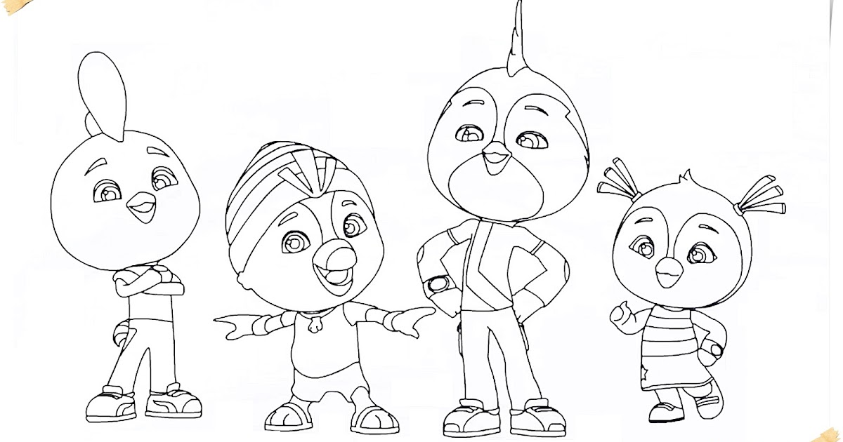 nickelodeon cartoon coloring pages