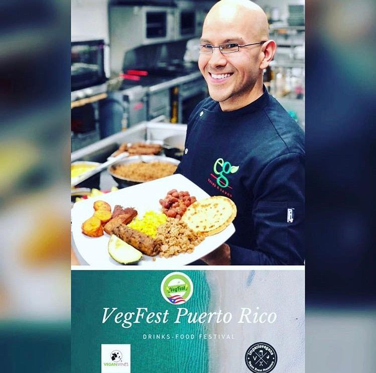 GASTRONOMÍA:  Vegfest Puerto Rico 2019 anunció evento especial con chef Vegano Eddie Garza.