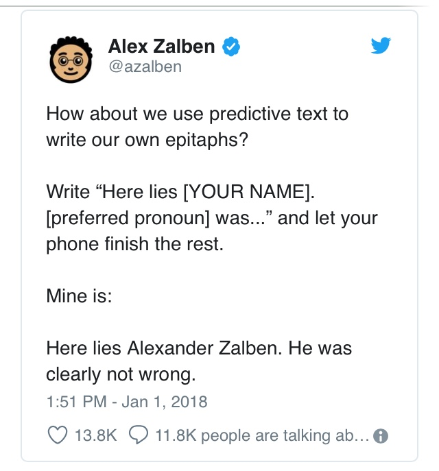 Complete Using Predictive Text Meme
