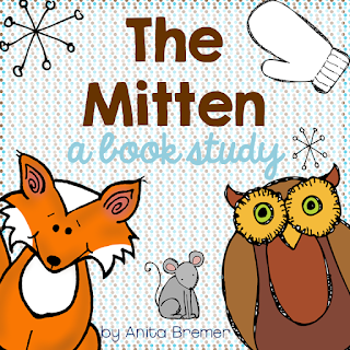 Book study companion activities to go with The Mitten by Jan Brett- perfect for Kindergarten!