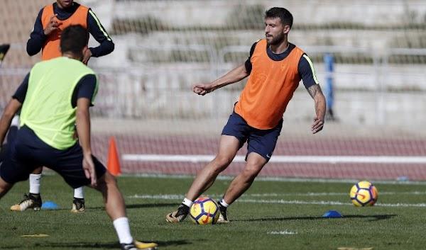 Málaga, Abqar es la nota positiva del entrenamiento