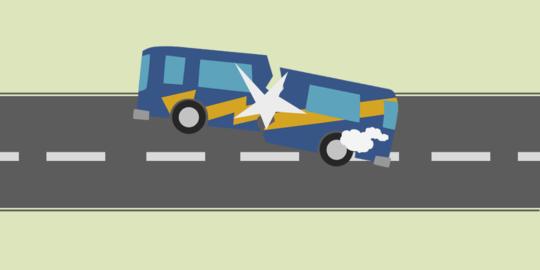 Tabrak Warga, Bus Pelita Indah Dirusak Massa