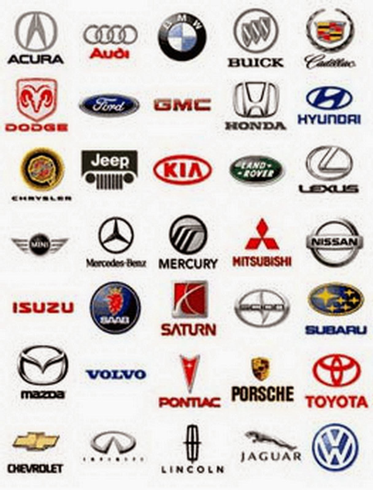 Luxury Car Logos And Names List