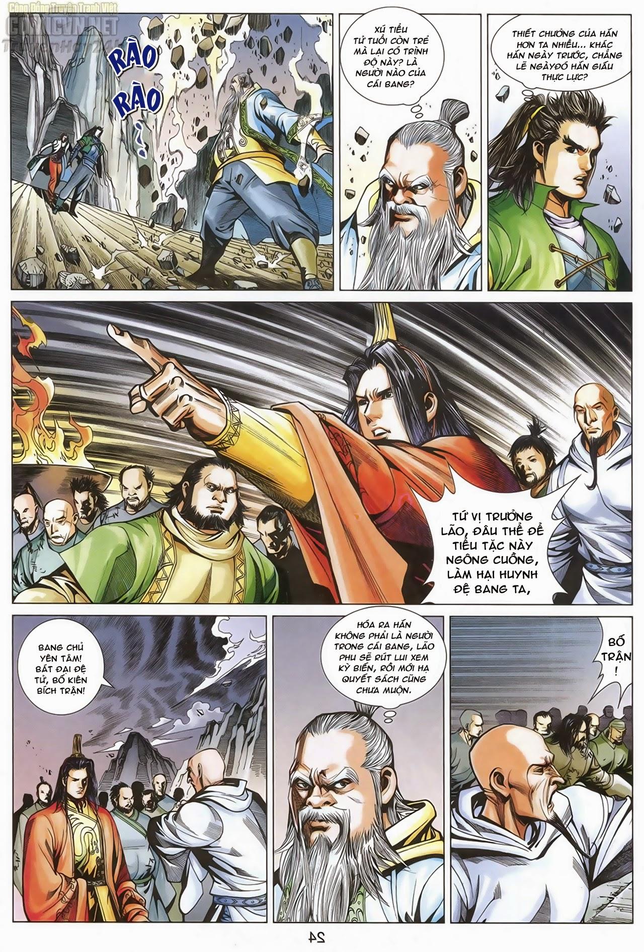 Anh Hùng Xạ Điêu anh hùng xạ đêu chap 67: quyết chiến hiên viên đài trang 23