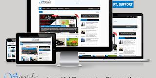 Download Sevida V2.3.1 Responsive Magazine Blogger Template